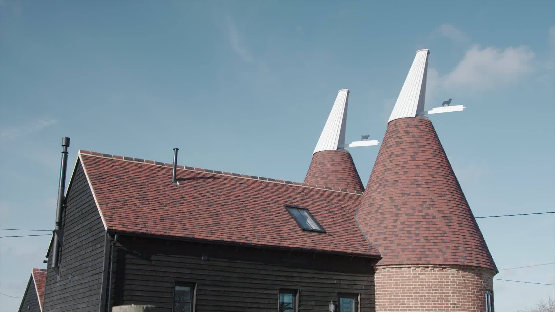 great british home restoration oast house with dude and arnette