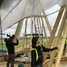 oast construction filming